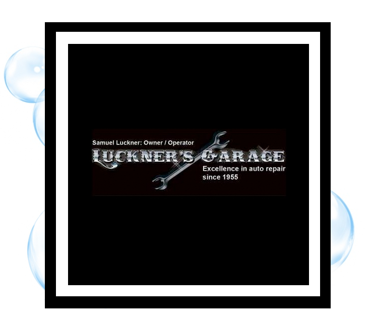 Luckner's Garage, Corning: Thirsty Fish Graphic Design Logo