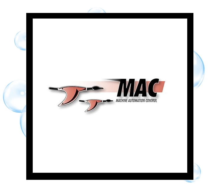 Machine Automation & Control logo: Thirsty Fish Graphic Design