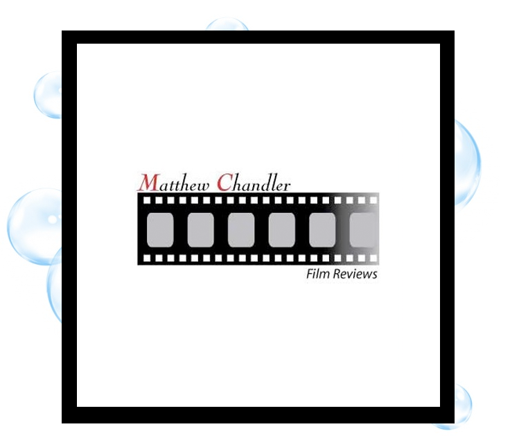 Matt Chandler Film Reviews Logo: Thirsty Fish Graphic Design