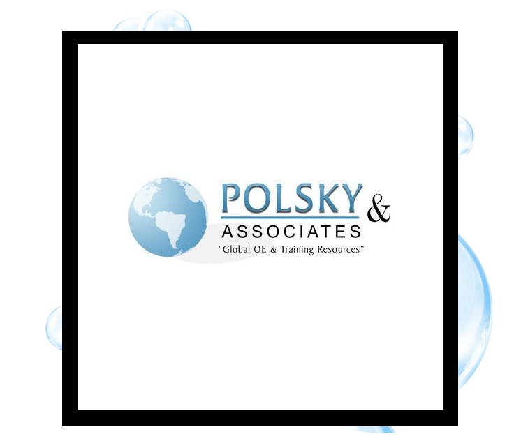 Polsky & Associates Logo: Thirsty Fish Graphic Design