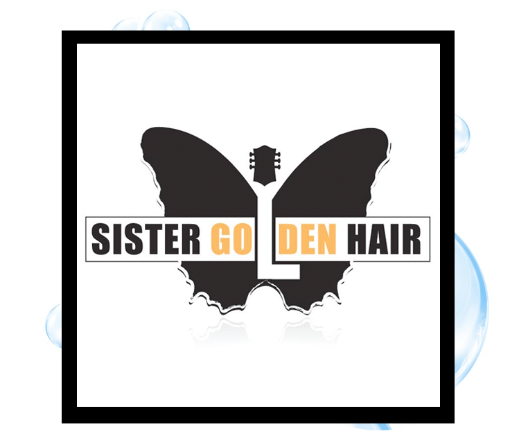 Sister Golden Hair Logo2: Thirsty Fish Graphic Design