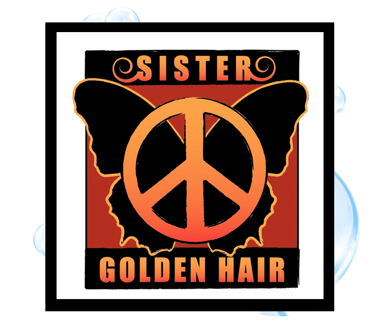 Sister Golden Hair 3 Logo Design: Thirsty Fish Graphic Design