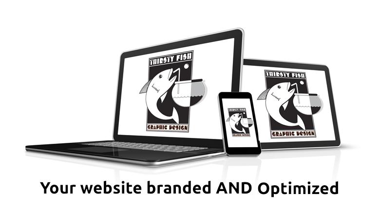 Thirsty Fish Graphic Design Web Design Services