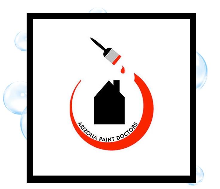 Arizona Paint Doctors Logo: Thirsty Fish Graphic Design