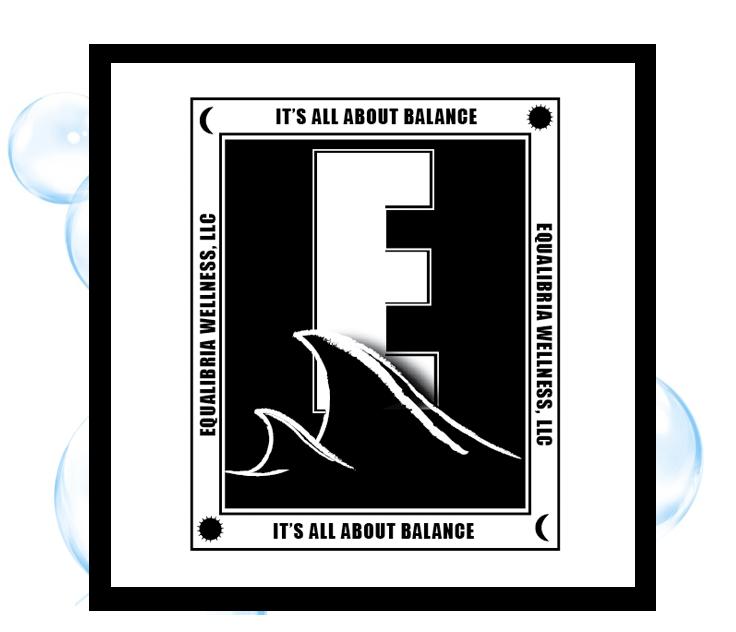 Equilibria Wellness Logo 3: Thirsty Fish Graphic Design