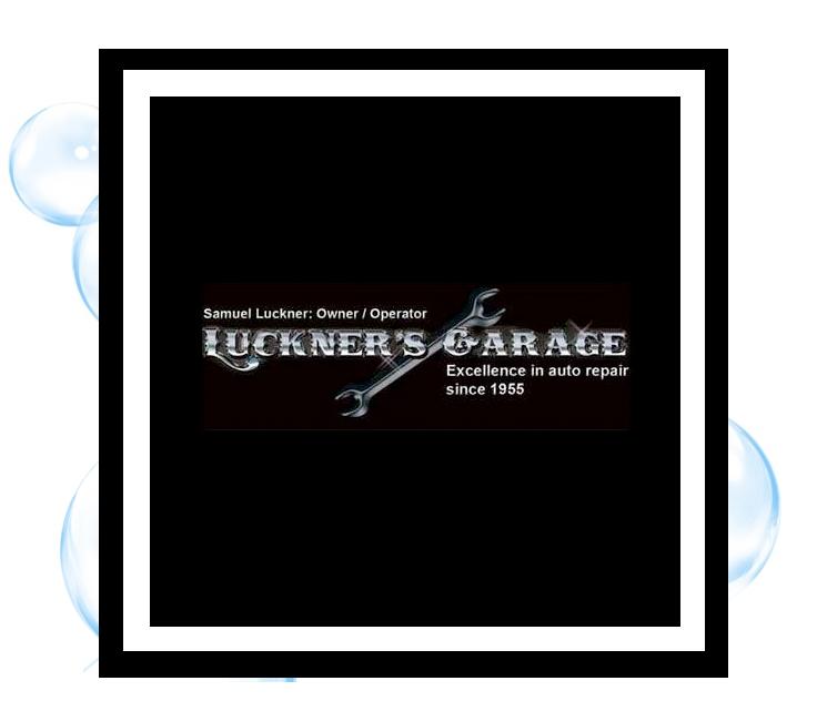 Luckner's Garage, Corning: Thirsty Fish Graphic Design Logo
