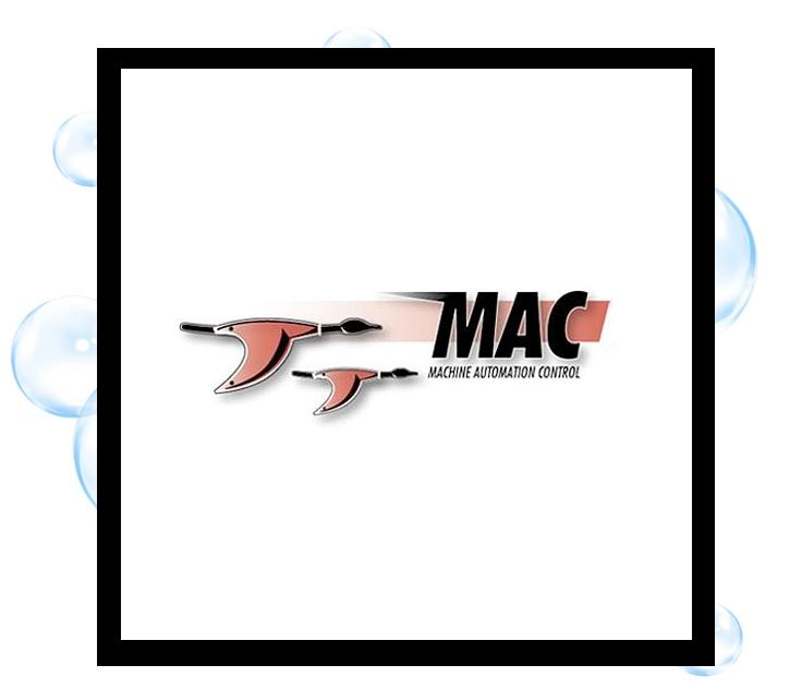 Machine Automation & Control logo: Thirsty Fish Graphic Design