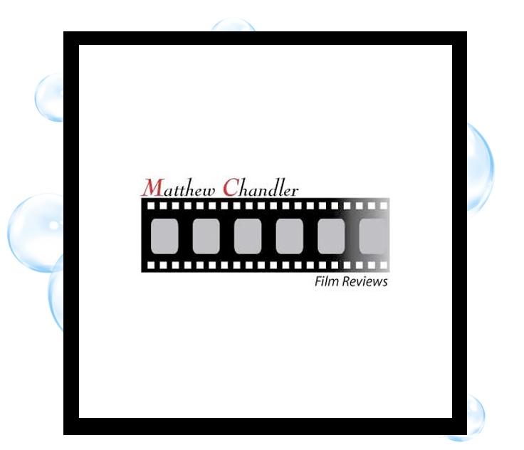 Matt Chandler Film Reviews Logo: Thirsty Fish Graphic Design
