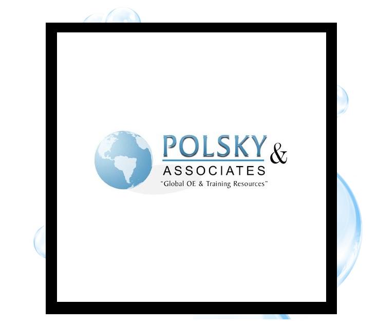 Polsky & Associates Logo: Thirsty Fish Graphic Design