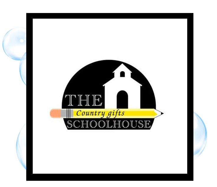 School House Country Gifts Logo: Thirsty Fish Graphic Design