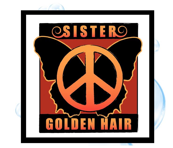 Sister Golden Hair 3 Logo Design: Thirsty Fish Graphic Design
