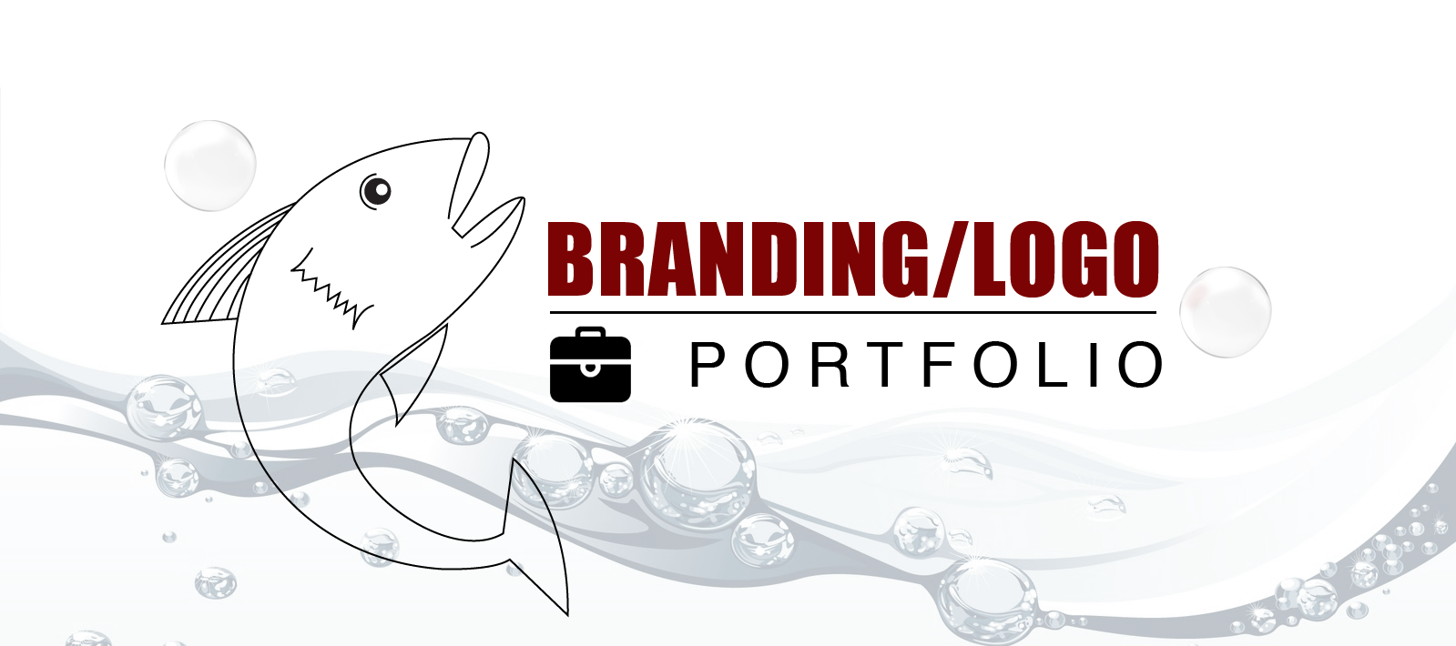 Thirsty Fish Graphic Design Branding