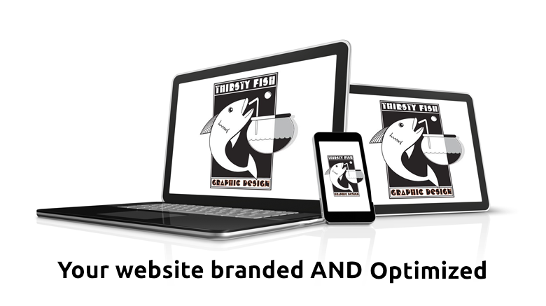 Thirsty Fish Graphic Design Web Design Services