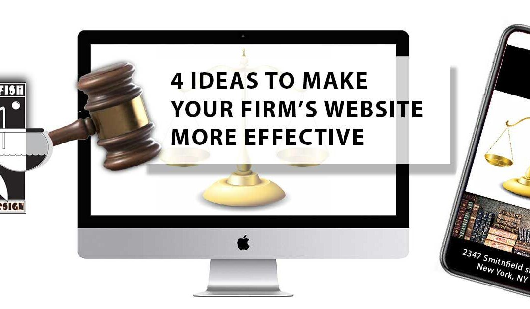 Four Ideas To Improve Your Law Firm's Website