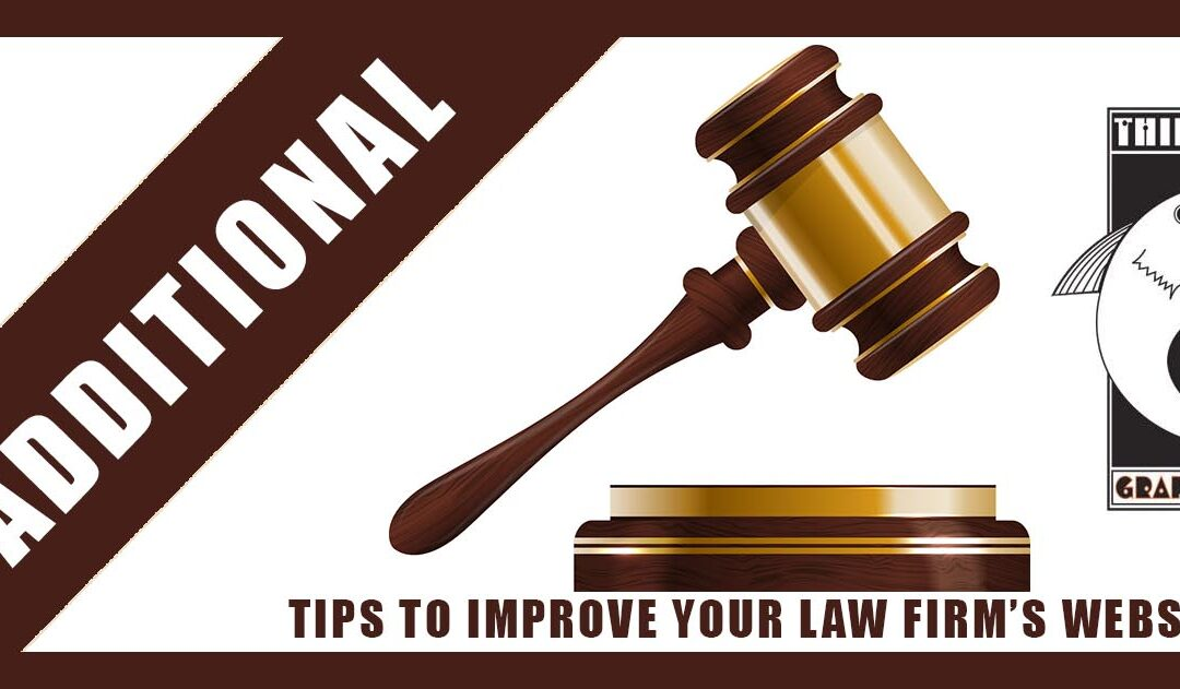 Four (more) Ideas to Improve Your Law Firm's Website